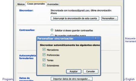 Chrome sincroniza extensiones y abre PDF en su versión de desarrollo