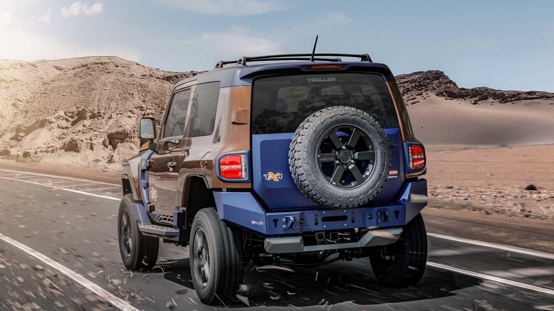 Foto de Troller TX4, el rival del Jeep Wrangler (32/43)
