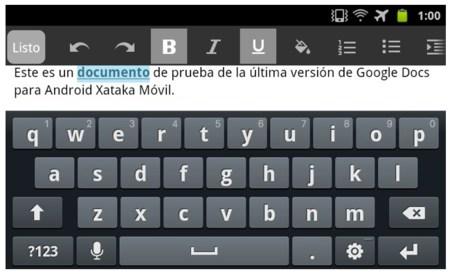 Google Docs para Android se actualiza con editor nativo y herramientas colaborativas