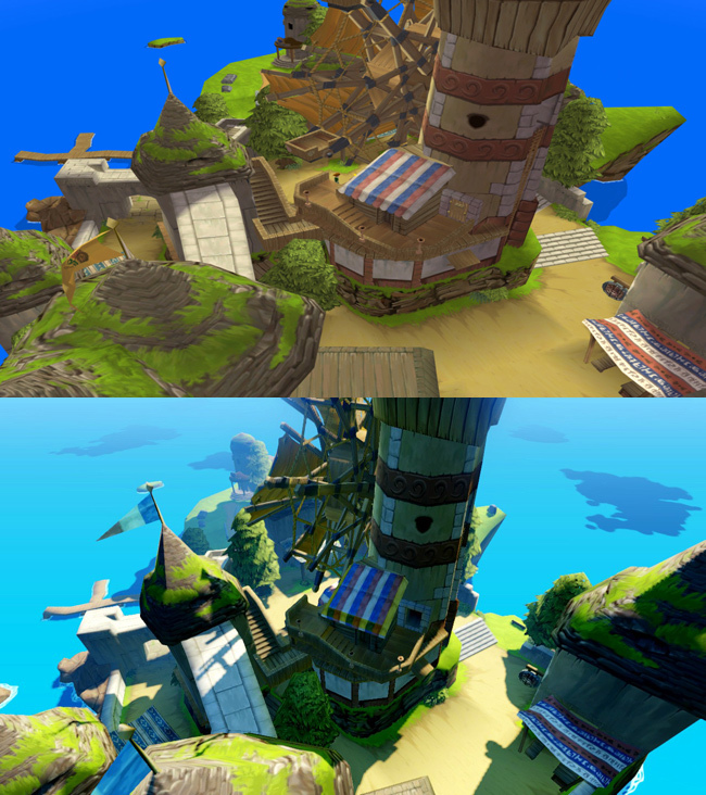 Foto de The Legend of Zelda: Wind Waker HD comparativa (4/5)