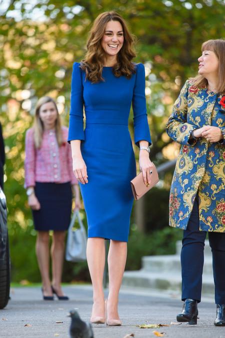 Kate Middleton De Azul2