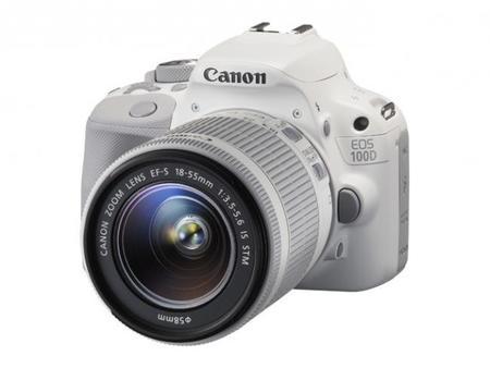 La DSLR más pequeña y ligera, la EOS 100D de Canon, acaba de salir en color blanco