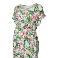 Vestido Premama Flores Tropicales