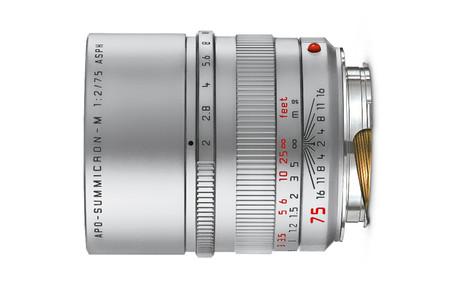 Leica Apo Summicron M75 F2 Silver