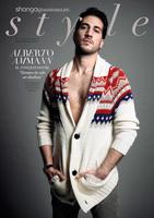 Alberto Ammann, nunca una chaqueta de lana sentó tan bien