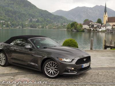 Los británicos compran más Mustang V8 que los americanos, en proporción