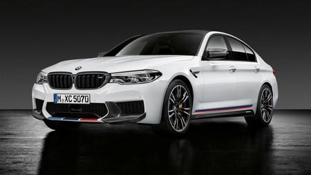 El BMW M5 se disfraza de M Performance para el SEMA: ¡fibra de carbono por doquier!