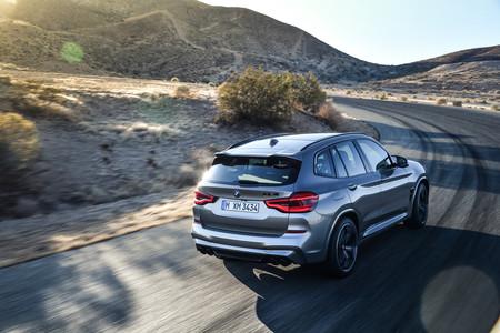BMW X3 M 2020 trasera superior