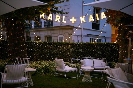 Karl Lagerfeld Y Kaia Gerber Fiesta