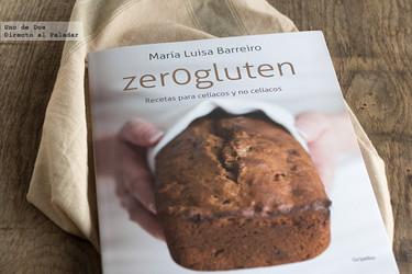 Zer0gluten, de María Luisa Barreiro. Libro de recetas