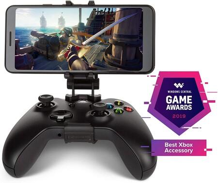 Clip para jugar Xbox One con el teléfono celular y Project xCloud