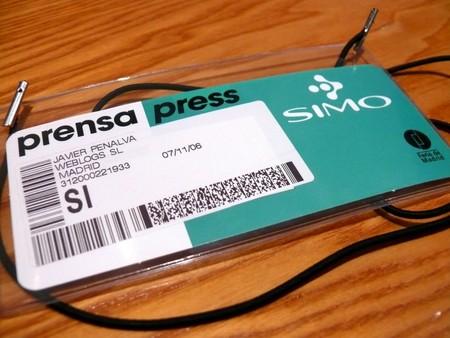 credencial SIMO 2006