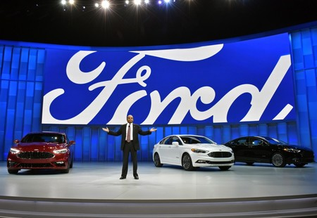 Raj Nair Introduces 2017 Ford Fusion
