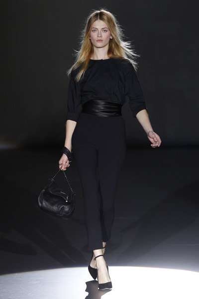 Sita Murt en la Cibeles Madrid Fashion Week Otoño-Invierno 2011/2012