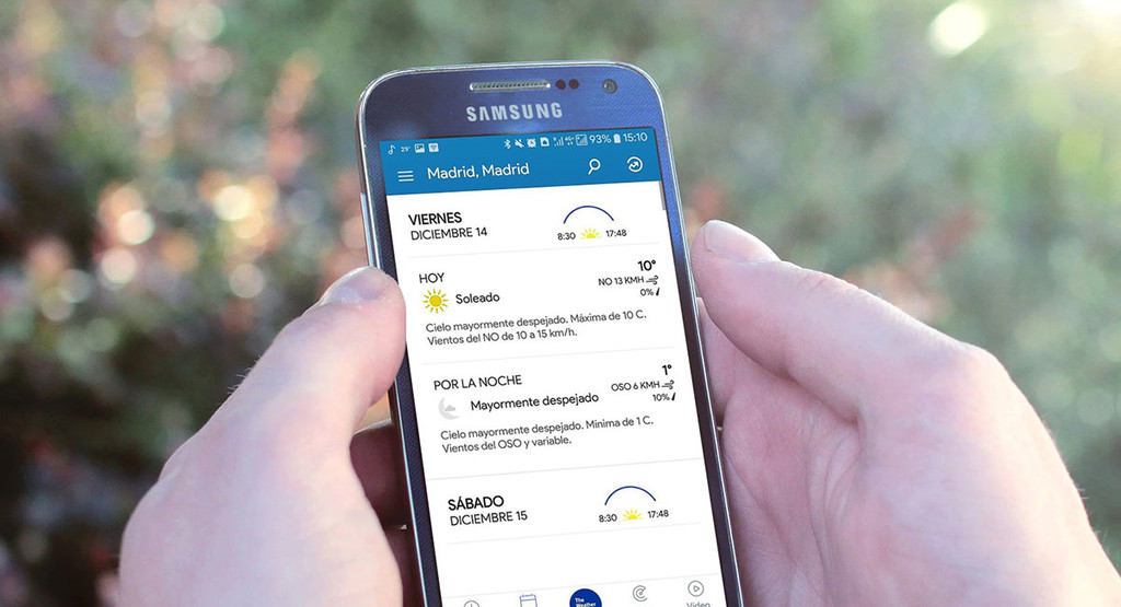 The Weather Channel receives a breath of fresh air with a totally new design