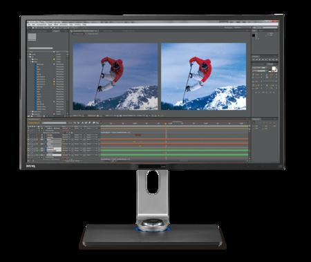 BenQ PV3200PT, un monitor 4K de 32 pulgadas para trabajar y jugar a lo grande