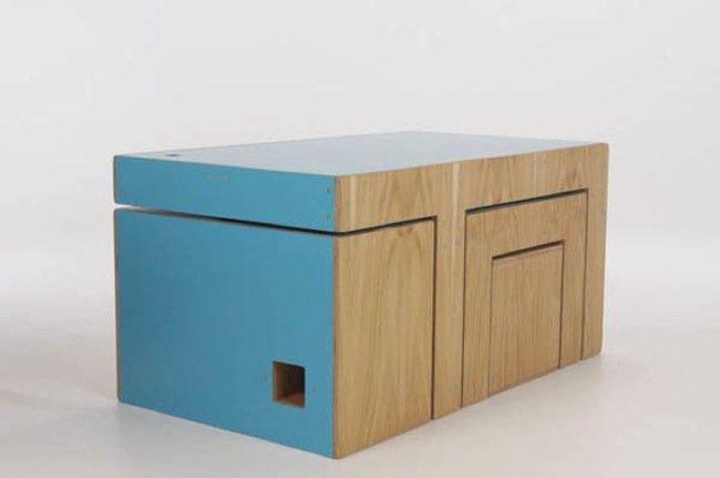 Muebles modulares multifunción y ecológicos