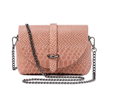 Rosa Bolso Serpiente Amazon