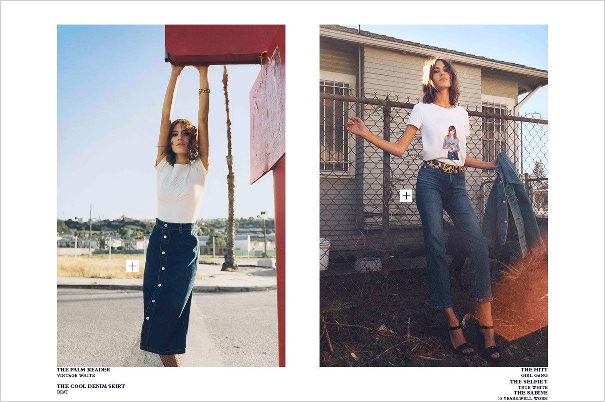 AG Jeans y Alexa Chung Otoño-Invierno 2015/2016