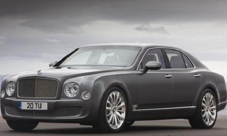 Bentley presentará el Mulsanne Mulliner en Ginebra