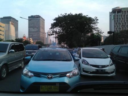 Thamrin Traffic Jam