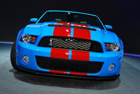 2010 Shelby Mustang GT500 en el Salon de Detroit