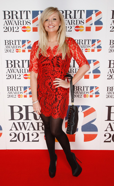Emma Bunton en los Brit Awards 2012