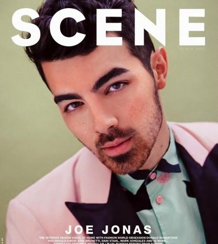 ¡Míra tú qué mono Joe Jonas luciendo barbita para la revista Scene!