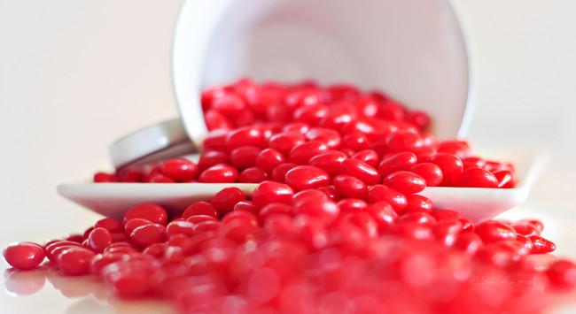 Dulces rojos