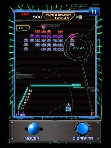 control con botones y joystiq virtual