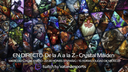 """Crystal Maiden en directo con la sección """"Dota 2 de la A a la Z"""" a las 22:30 horas (las 15:30 horas en Ciudad de México) [Finalizado]"""