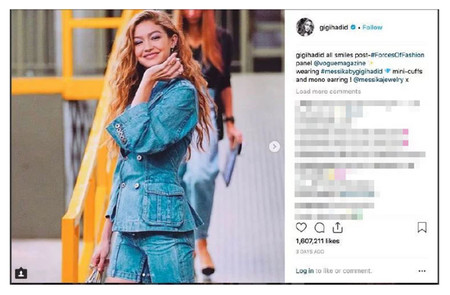 Gigi Hadid Instagram Deleted