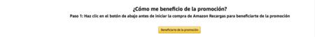 Beneficiarse De La Promocion Amazon Codigo