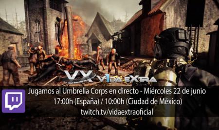 Jugamos en directo a Umbrella Corps a las 17:00h (las 10:00h en Ciudad de México)