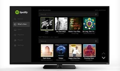 Vizio trae Spotify a sus últimos modelos Smart TV