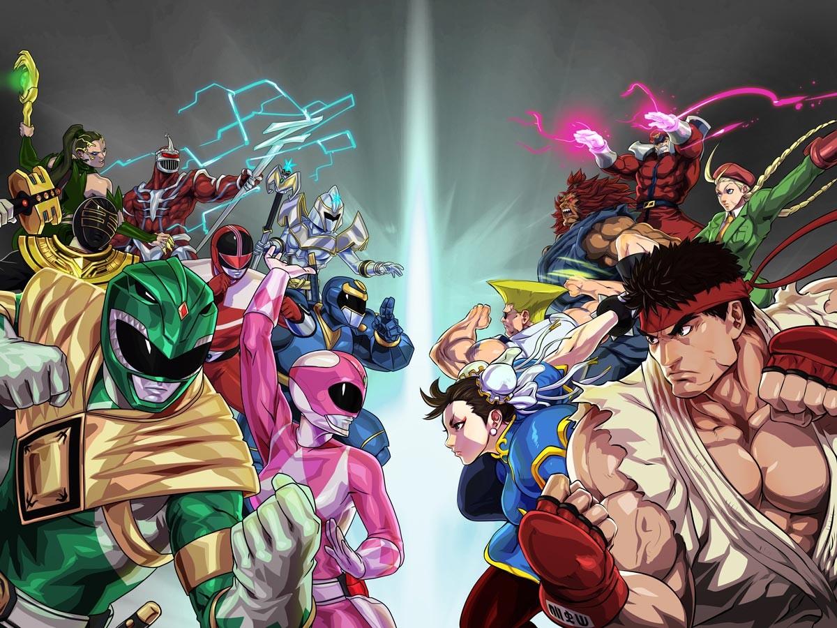 Foto de Power Rangers X Street Fighter (2/11)