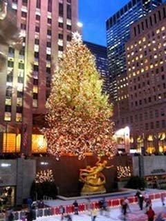 Postal de Navidad neoyorkina