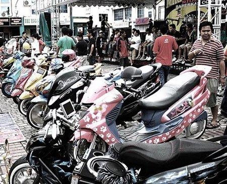 Miri City Bike Week, el tuning llevado al extremo sobre un Scooter