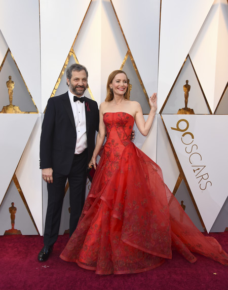 Oscars 2018 Judd Apatow Left And Leslie Mann