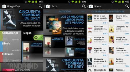 Google Play ya tiene también libros