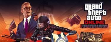 GTA Online se vuelve cada vez más loco: así es Arena War, el explosivo combate de gladiadores motorizados de Rockstar
