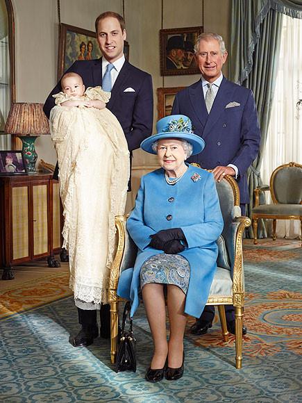 bautizo principe George