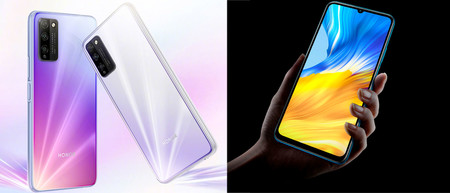 Honor X10 Max y Honor 30 Lite: 7 pulgadas y 90 Hz para estos gama media con 5G de precio más ajustado