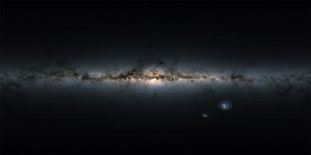 Gaia ha permitido crear el mapa más preciso y completo de la Vía Lactea, con datos de más de 1.700 millones de estrellas