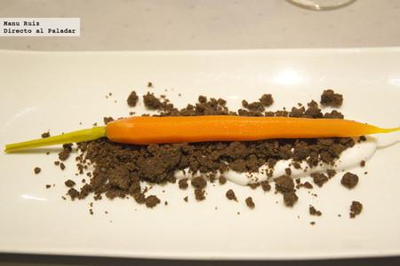 huerto de zanahoria