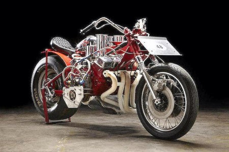 Ej Potter Widowmaker 7 Motorcycle With A Chevy V8 01