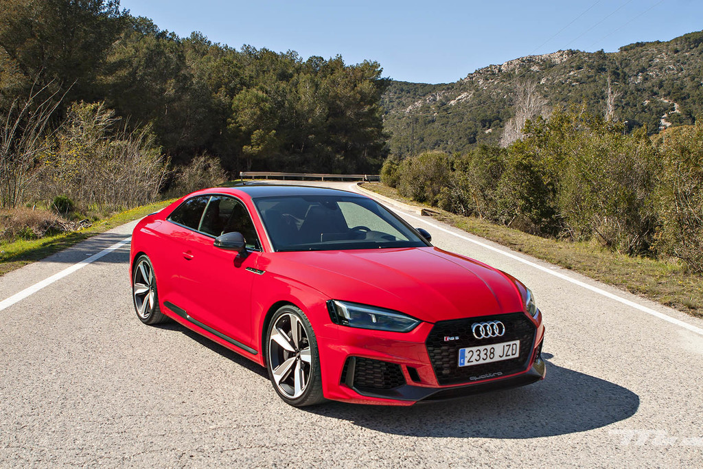 Audi rs5 prueba