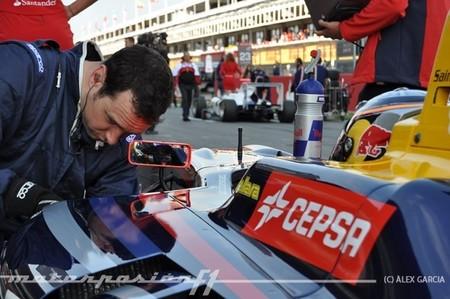 Galería de fotos de la primera ronda de la GP3 en Barcelona