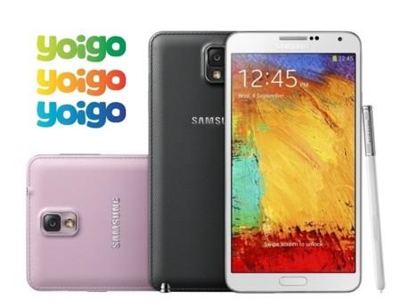Precios Samsung Galaxy Note 3 con Yoigo