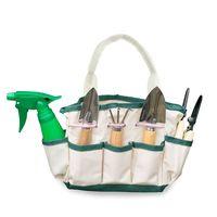 El kit de siete herramientas de jardín con bolsa de lona cuesta 23,50 euros en Amazon